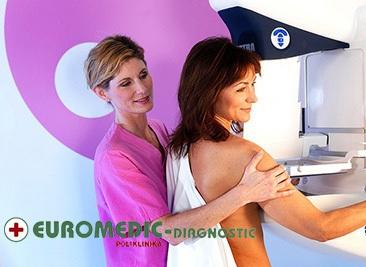 Samo 3250 din EUROMEDIK - kompletan pregled dojki (mamografija + ultrazvuk dojki + palpatorni pregled), N. Beograd!