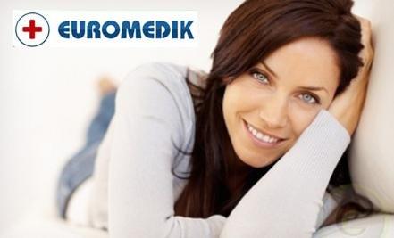 Samo 3590 din EUROMEDIK kompletan ginekološki pregled + UZ DOJKI (kolposkopija, PAPA, VS, UZ), 5 lokacija u gradu!