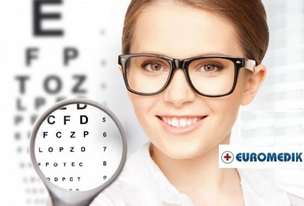 Samo 990 din EUROMEDIK kompletan OFTAMOLOŠKI pregled (pregled svh struktura oka, očnog dna, dioptrija, merenje očnog pritiska)!