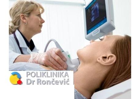 Samo 1190 din ULTRAZVUK  REGIJE PO IZBORU SA COLOR DOPPLEROM (srce, ginekološki, štitnjača, abdomen, zglobova, oka...) Rončević!