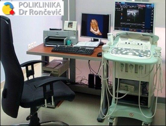 Samo 2500 din 5 ULTRAZVUČNIH PREGLEDA (abdomen, štitasta žlezda, urološki, mala karlica i meka tkiva) sa izveštajem, Rončević!